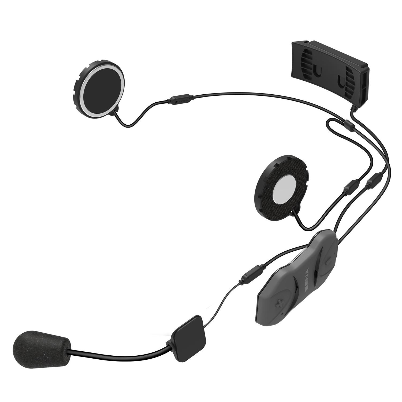 bluetooth earbuds low profile sena smh10r low profile bluetooth headset and intercom sena. Black Bedroom Furniture Sets. Home Design Ideas