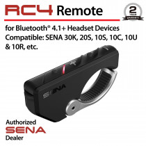 RC4, 4-Button Remote Control for Bluetooth Communication System