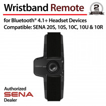 Wristband Remote for Bluetooth Communication System