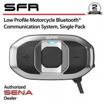 SFR-01 Low Profile Bluetooth Headset & Intercom, Single Pack