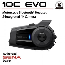 10C Evo Bluetooth Headset & 4K Camera