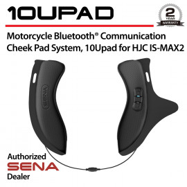 10Upad Bluetooth Cheek Pad System for HJC IS-MAX2