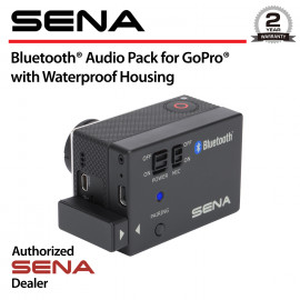 Bluetooth Audio Pack for GoPro with Waterproof Case