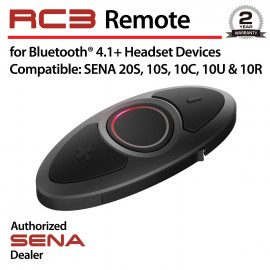 RC3, 3-Button Remote for Bluetooth Communication System