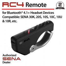 RC4, 4-Button Remote for Bluetooth Communication System