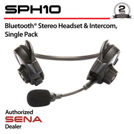 SPH10 Bluetooth Stereo Headset & Intercom