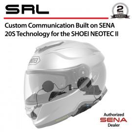 SRL Bluetooth Headset & Intercom for Shoei Neotec II