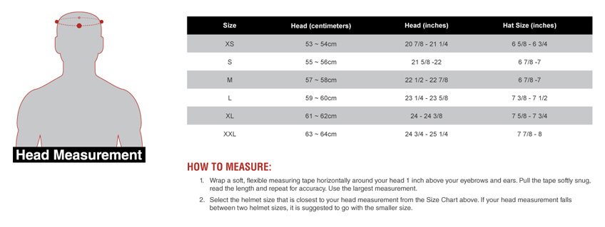 Momentum Sizing Guide